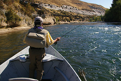 Trout on the yakima river for Best river fishing boat