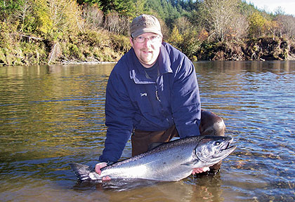If you live in Western Washington, here are some of the top rivers and rigs to catch returning runs of bright chinook. (June 2009)