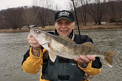 West Virginia River Walleyes & Saugers