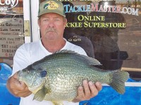 Robert Lawler's 5 pound, 8.8 ounce redear sunfish could be a new world record.