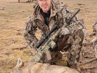 Ethical hunters -- whether they shoot bolt actions or semi-automatics -- strive for one-shot kills. But guys with a spray-and-pray approach will put rounds downrange with whatever rifle they happen to be using. Author J. Guthrie used a Remington R-15 to take this coyote -- with one shot. Photo by J. Guthrie.