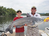Former guide and tournament catfisherman Jeff Williams formed the Team Catfish brand to supply gear to serious big-cat anglers. Photo by Jeff Samsel.