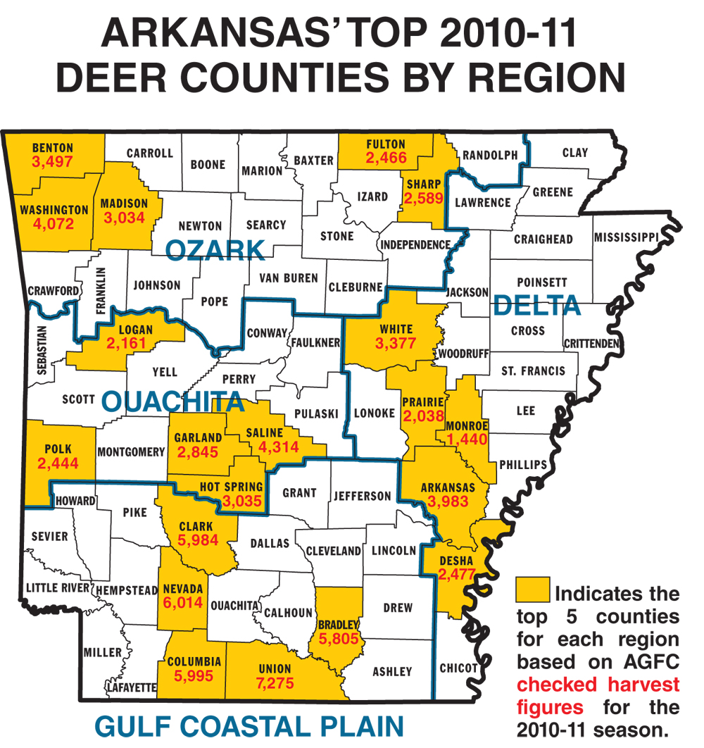 2011 Arkansas Deer Forecast  Game Amp Fish