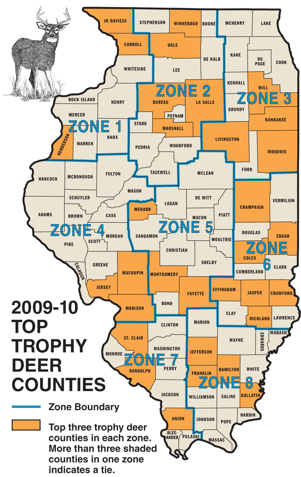 Bucks county zip codes related keywords bucks county zip for Illinois game and fish