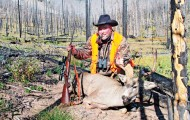 Often hunters will have to travel deep into the backcountry to pursue mule deer. These western deer are not as tolerant of humans as their eastern cousins.  Photo by Dave Campbell.