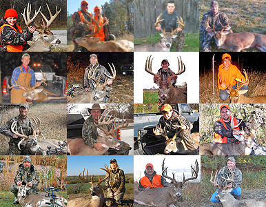 Whitetail deer hunting is in full swing across the U.S. and hunters big and small are finding