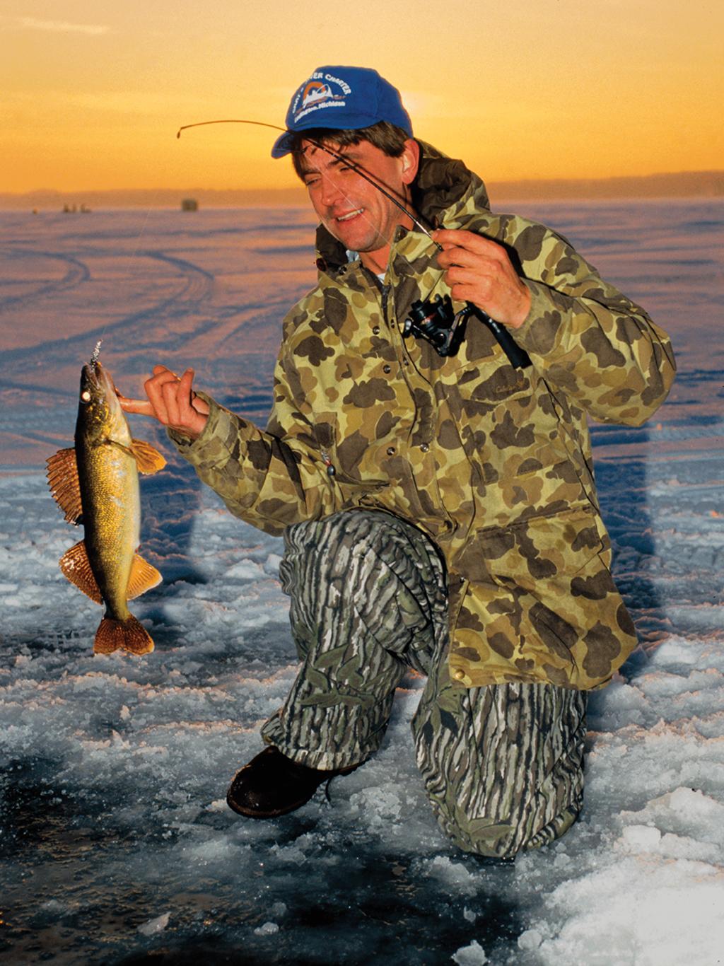 Hot Michigan Ice-Fishing Options