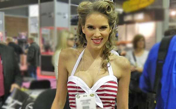 Head turning booth babes, Sportsman celebrities, guns and gear