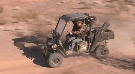 Brandon Haddock introduces us to the Bad Boy Buggies Ambush, a new vehicle featuring dual power
