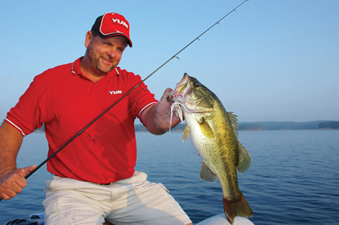 With spring now upon us, those of us who love fishing for black bass (largemouths, smallmouths