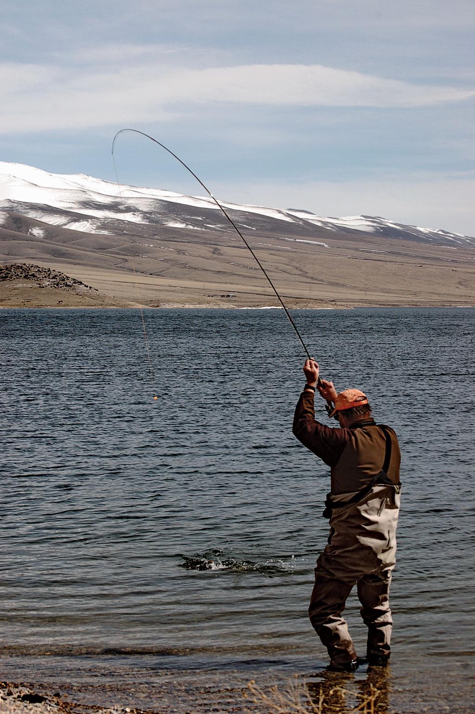 Early Bird Montana Trout Fishing