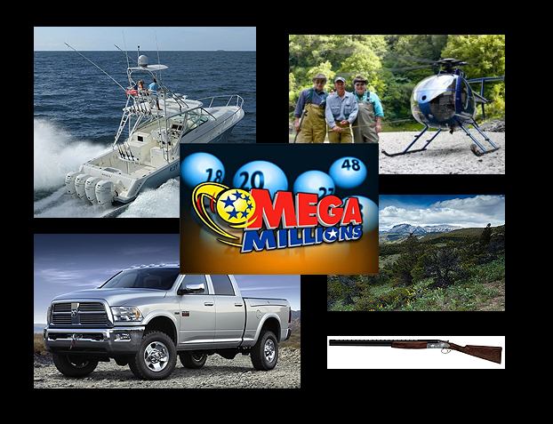 Mega Millions! 15 Things A Sportsman Might Do With a $640 Million Jackpot