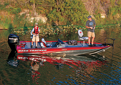 Anglers will find new features made for them in a new lineup of fishing boats for rivers, lakes and inshore waters.