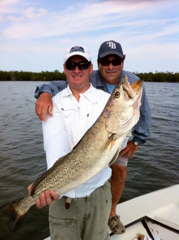 A Florida fisher's spotted seatrout caught last month could claim the International Game Fish Association's all-tackle length record.