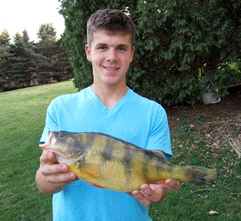 Teen Lands Iowa Record Yellow Perch