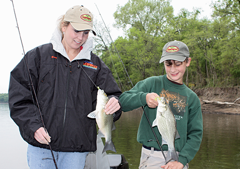 White bass on the run game fish for White bass fishing