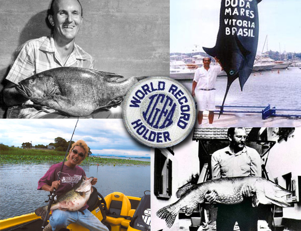 I recently sent a note to Jack Vitek, the World Records Coordinator for the International Game Fish
