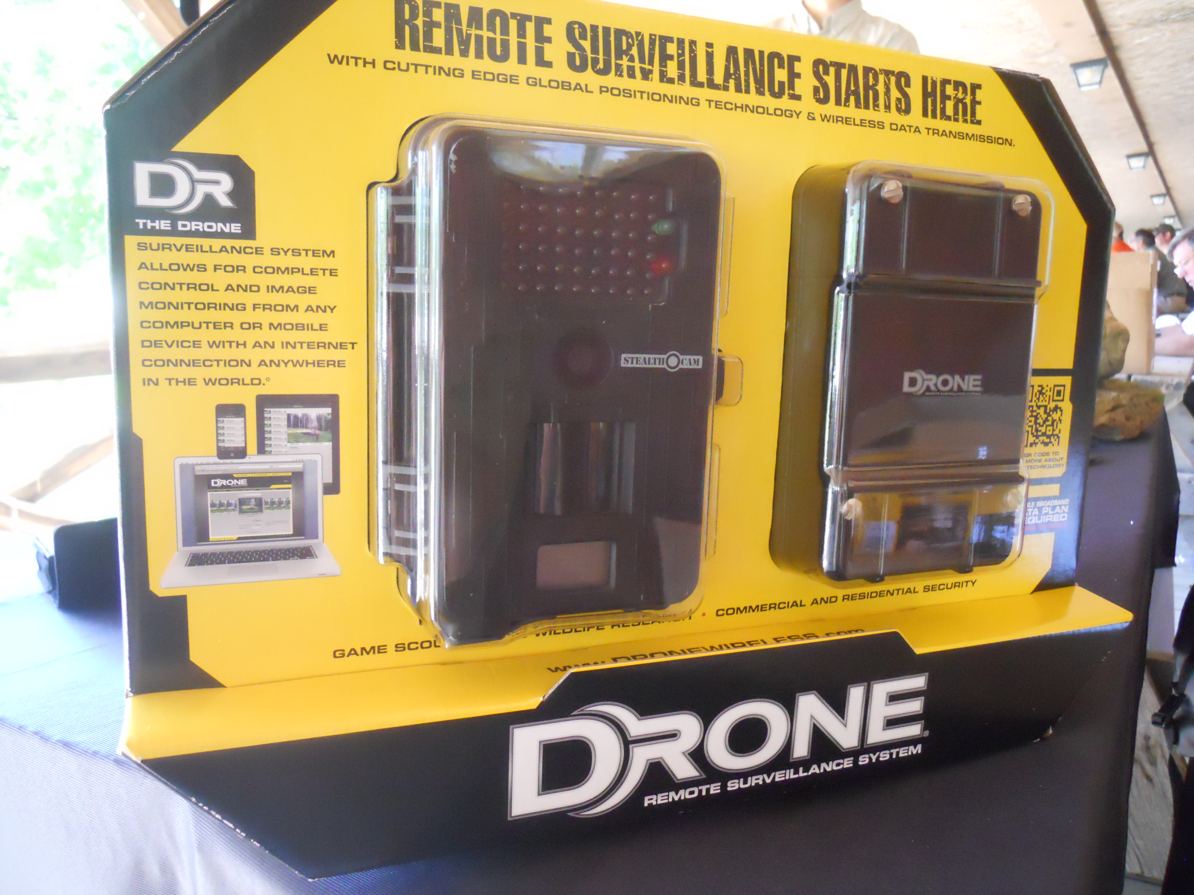 Drone Remote Surveillance System