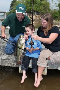 Kentucky family fishing vacations game fish for Kentucky fish and game