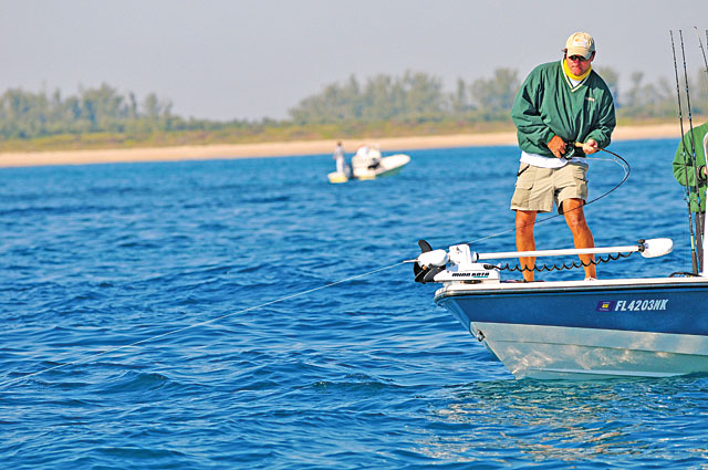 The better you get at seeking out and finding fish by sight, the more experience you have with
