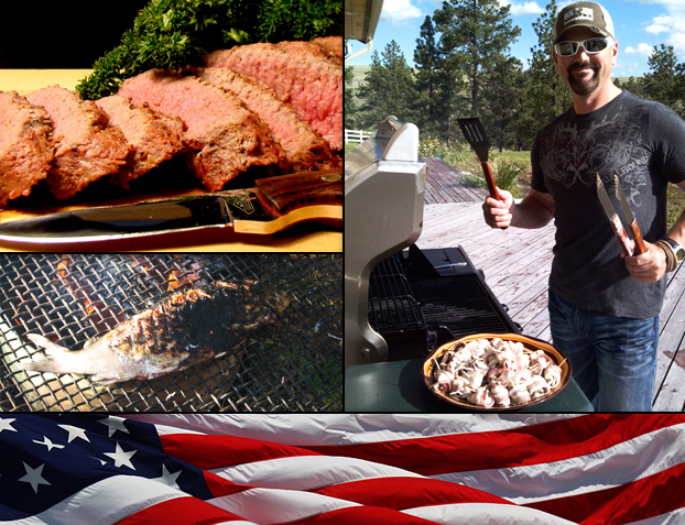 Here's a'collection of wild game and fish recipes to help your 4th of July BBQ