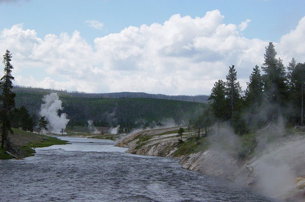 Yellowstone Closes Rivers Due to Warm Water