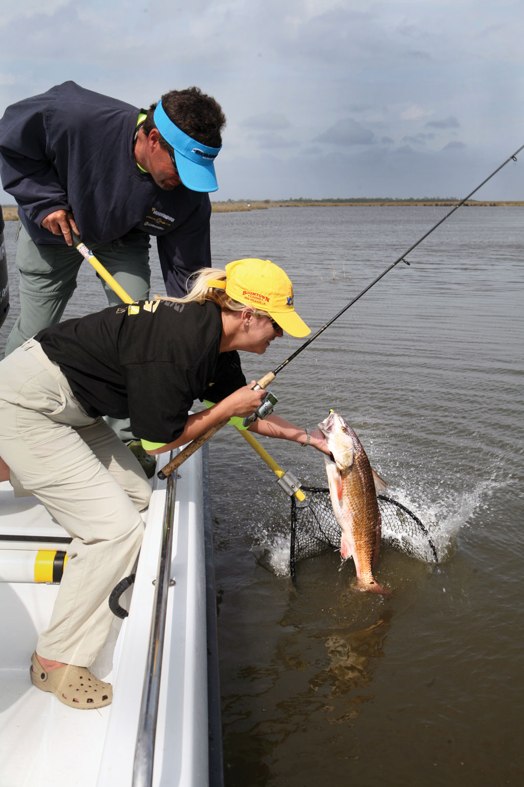 Red drum top the list of favored inshore sport fish. Learning to catch them at any stage of the tide places you among the elite anglers.