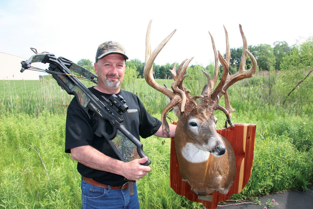 The archery season had already begun in Ohio when I acquired permission to hunt a total of about
