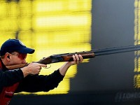 Vincent Scott won the 2012 Men's Skeet gold medal at the XXX London Games, joining Kim Rhode won took home the gold earlier in the competition. Photo courtesy of London2012.com/
