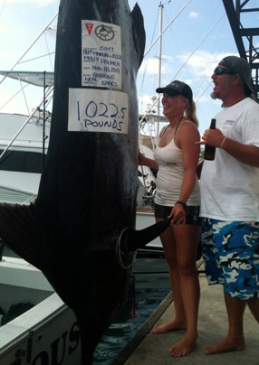Despite a world-class effort at this year's Big Island Invitational Marlin Tournament in Hawaii,