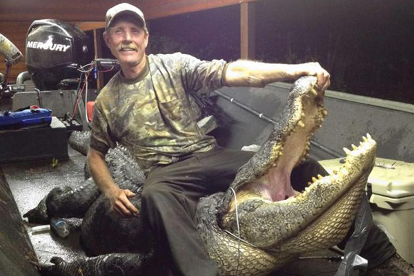 Arkansas Man Kills Monster Gator; Gets State Record