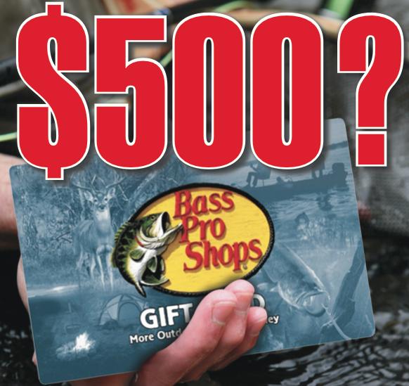 Reader Survey: Lucky Angler to Win $500!