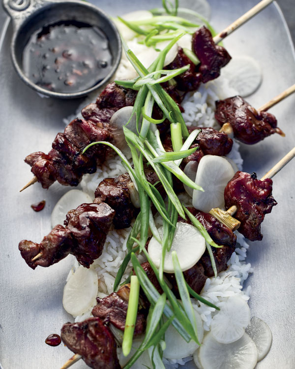 Duck Yakitori Recipe