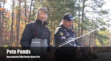 Pete Ponds on when to use Mono or Fluoro with Crankbaits