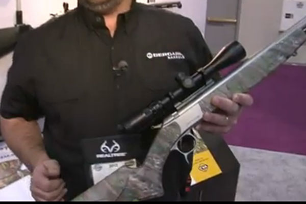 CVA was on hand at the 2013 SHOT Show in Las Vegas for the release of its Optima V2 muzzleloader,