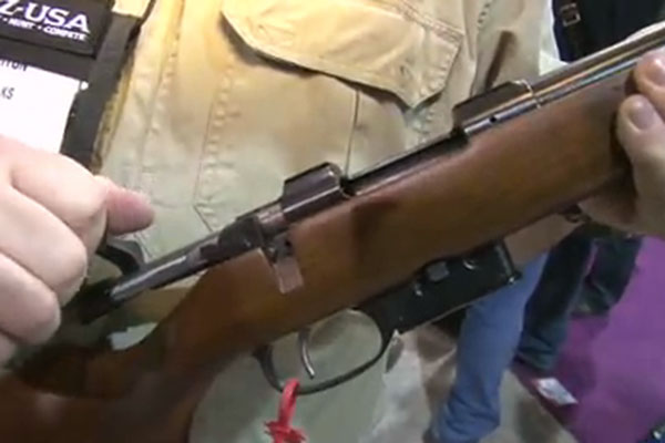 CZ-USA was at the 2013 SHOT Show in Las Vegas to reveal the CZ 527 in .17 Hornet. The new