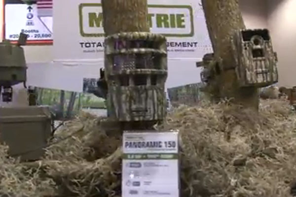 Moultrie was on hand at the 2013 SHOT Show in Las Vegas for the reveal of their new Panoramic 150