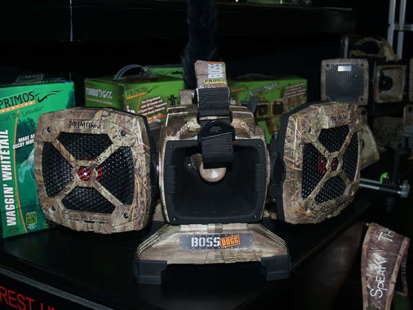 Primos was at the 2013 SHOT Show in Las Vegas for the release of its new predator call, the Boss
