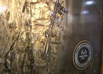 Realtree was on hand at the 2013 SHOT Show in Las Vegas to showcase their new Xtra camo pattern.