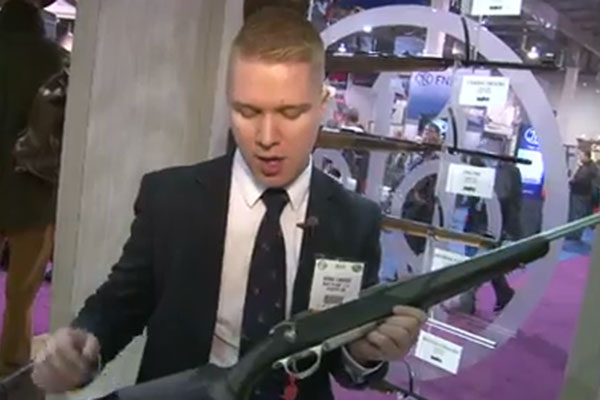 Sako was on hand at the 2013 SHOT Show in Las Vegas to reveal its 85 Finnlight rifle, which weighs