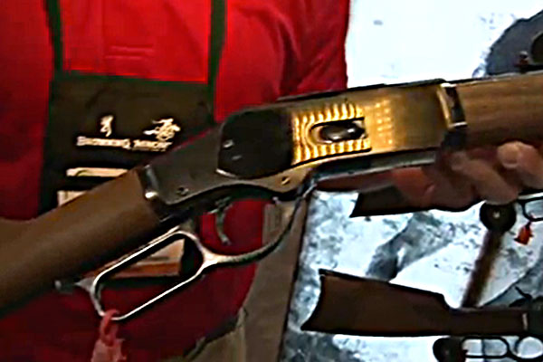 Winchester Repeating Arms was on hand at the 2013 SHOT Show in Las Vegas to reveal their newest