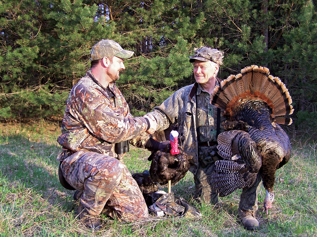 Wisconsin big-bird enthusiasts have come to depend on the Badger State's turkey population to