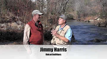 http://brightcove=2366171849001  See Jimmy Harris of Unicoi Outfitters and Jimmy Jacobs of Game and