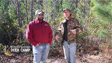 http://brightcove=2366156576001  Check out this video for tips on engineering a food plot for kill