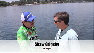 http://brightcove=2305287390001 Bass Legend Shaw Grigsby breaks down post-spawn waters for summer