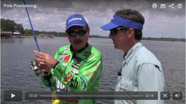 Dock fishing for bass is one of the most productive summertime patterns.  Legend Shaw Grigsby walks you through skipping lures for bass.