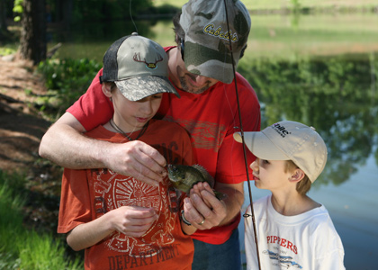 Etowah River Family Fishing Lessons