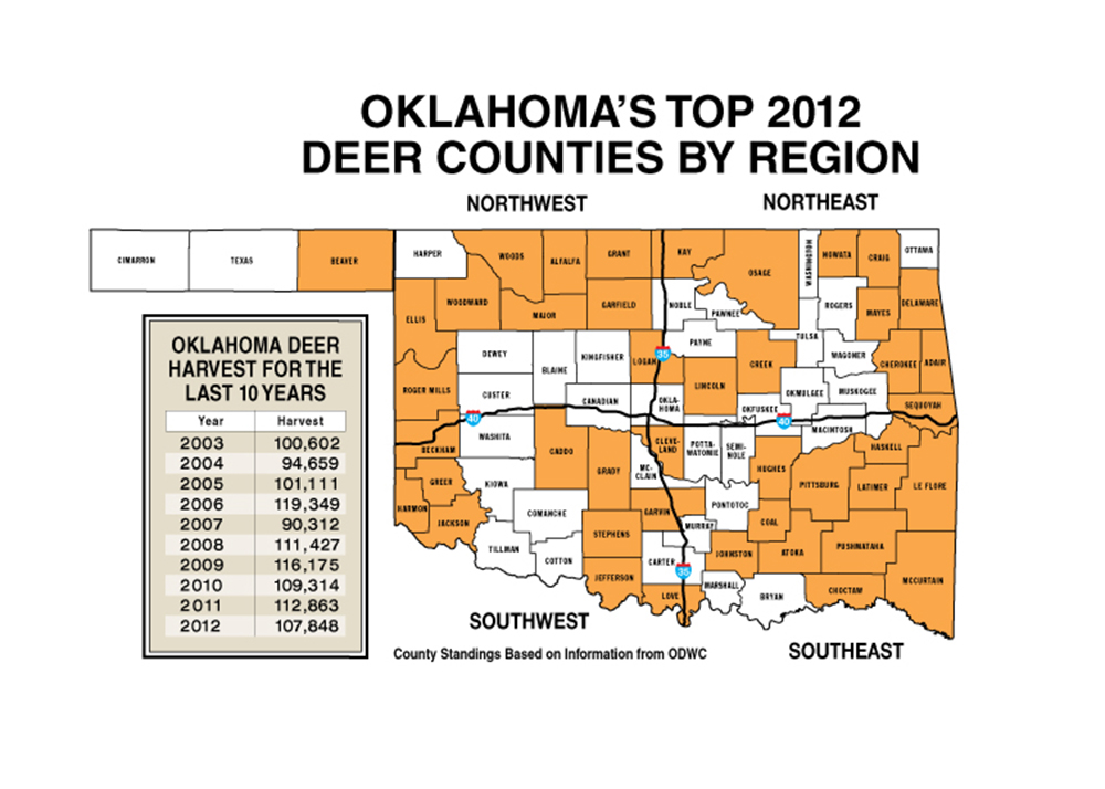 1311 ok ds1map c game fish for Oklahoma fish and game