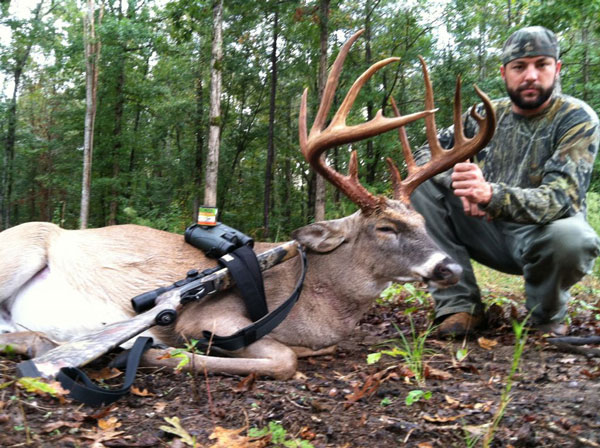 Joshua Earp With His Taylor County Georgia Buck Photo Via North American Whitetail