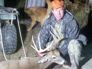 Robert Bonner's slug gun buck from North Carolina. Photo via North American Whitetail.